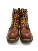 Rare Vintage Red Wing Heritage 8 Moc-toe Work Boots Leather 214 Size 15 Aa