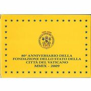 [502552] Vatican 1 Cent To 2 Euro 2009 Proof Set Ms65-70
