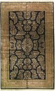 10x16 Quality Rug Thick And Lustrous Wool D. Blue