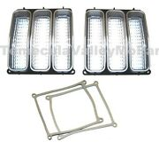 Parking Light Lenses And Gaskets For 1971-1972 Plymouth Duster