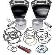 Sands Cycle 96 Big Bore Top End Sidewinder Kit 91-7702 For 1984-99 Harley Evo