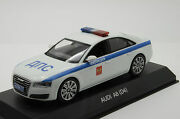 Audi A8 Russian Police D4 Kyosho 2010 White 1/43