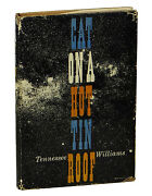 Cat On A Hot Tin Roof Tennessee Williams First Edition 1955 1st Printing