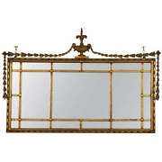 Early Adams Style Gilt Wooden Mirror 101-5356