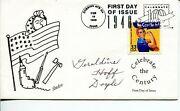 Geraldine Doyle Wwii War We Can Do It Rosie The Riveter Signed Autograph Fdc