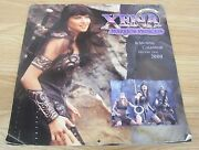 Genuine Xena Warrior Princess 16 Month Calendar For The Year 2000 Read