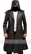 Assassins Creed Syndicate Jacob Frye's Real Leather Coat