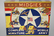 1940's Midgies The Complete Miniature Mobile Army Jaymar Specialty Co.