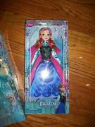 Disney Store Classic Frozen Anna Doll Nib Sold Out