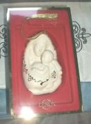 Lenox Bejeweled Madonna And Child Ornament 2005