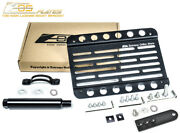 Eos Plate For 09-12 Benz R230 Sl-class Pdc Tow Hook License W/ Lowering Bracket