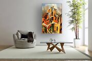 Picasso Hd Bannercanvas Print Wall Art Decal Pablo Ruiz Y Picasso Cubism