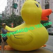 Advertising Inflatable Duck Balloon With Customs Logo/blower 10ft On Event