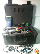 Fluke Networks Net Tool Series Ii And Greenlee Tester With A Bunch Of Accessories