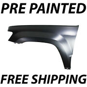 New Painted To Match Drivers Front Left Fender For 2005-2010 Jeep Grand Cherokee