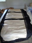 Foward Drop With Curtains For Chaparal 263 Camper Boat
