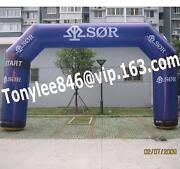 Advertising Inflatable Arch Balloon With Blower 20ft,on Outdoor Event Display