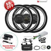 Voilamart Electric Bicycle E-bike 26 Front Rear Wheel Motor Conversion Kit