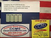 Ccms Force Drag Outboard Reed Reeds 70-90 Hp 3 Cyl 1993-up Pn534d