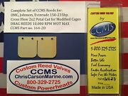 Ccms Omc Johnson Evinrude Drag Outboard Reed Reeds 150-235hp Cf 2x2 Pn164-2d