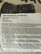 Pottery Barn Nwt Brand New Melia Hand-loomed Rug 3and039x5and039 Sold Out @ Pottery Barn