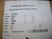 Filmquest Group Questar Polyester Film Type Ai-101 75 Micron Thick 2 Rolls 8000and039