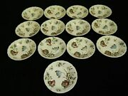 Set Of 13 Vintage Johnson Brothers Day In June Berry Or Fruit Bowls England