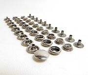 150 Pc. 100 Stainless Steel Boat Canvas Snaps Cap / Socket / Stud / Eyelet
