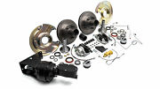 1966-1975 Early Ford Bronco Front Power Disc Brake Conversion, New, Dana 30 And 44
