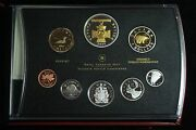2006 Canada Proof Double Dollar Set W/box Papers Victoria Cross