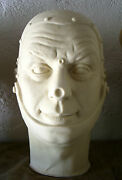 Jack Haley Tinman Latex Head From Movieland Wax Museum Mold By Pat Newman