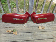 1978 Honda Gl1000 Rh And/or Lh Goldwing Tank Shelter Covers 1975 1976 1977