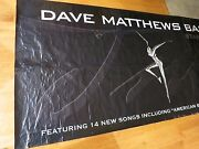 Dave Matthews Signed Stand Up Record Store Banner Coa + Proof Rare 1 Of A Kind