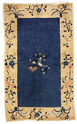 Hand Made Antique Chinese Peking Rug 3and039 X 5and039 91cm X 152cm 1900 - 1l19