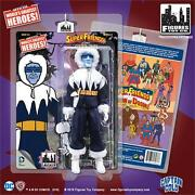 Super Friends Series 3 Captain Cold 8 Inch Action Figure Mosc New Mint
