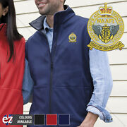 Navy Army Air Force Institutions - Body Warmer With Embroidered Badge