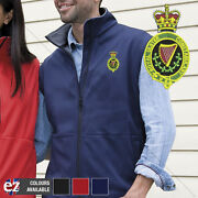 Royal Ulster Constabulary - Body Warmer With Embroidered Badge