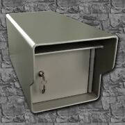 Extreme Heavy Duty High Security Locking Steel Mailbox - All Welded 68 Pounds