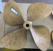 Pair 30 X 30 Rh And Lh 1 3/4 Inch Bore 4 Blade Propellers 92d