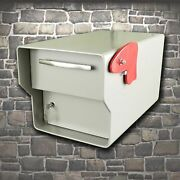Fort Knox Locking Security Rural Mailbox 1/4 Steel The Fortress