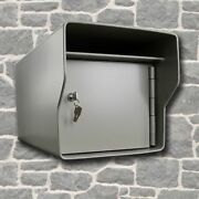 Heavy Duty Locking Mailbox Extreme Security @ 96 Lbs To End Mail Theft Large