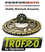 Trofeo 525 Pitch Chain And Sprocket Kit Ducati 1198 / 1198s 525 With Pcd 09-11