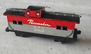 Vintage 1950s O Scale Marx Tin Pacemaker Nyc 20118 Caboose Car