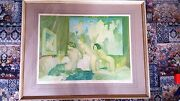 Rare Large Early Russell Flint Signed Print - Frost And Reed 1951