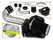 Cold Heat Shield Air Intake + Black Filter For 11-20 Jeep Grand Cherokee 5.7l V8