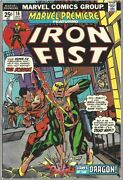 Marvel Premiere 16 - 2nd Appearance Of Iron Fist - Grade Vf-8.0