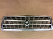 1981-1984 Dodge Aries Plymouth Reliant Front Grille Chrome W/ Emblem Oem