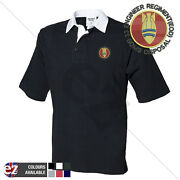 33 Engineer Regiment Bomb Disposal - Army - Rugby Shirt Short Sleeve