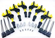 Fits Fairlady Z 300zx Ignition Coils Spark Plugs Wire Harness Repair Kit V6 3l