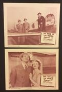 Hop Harrigan Vintage Lobby Cards Chapter 15 Fate Of The World Columbia 1957